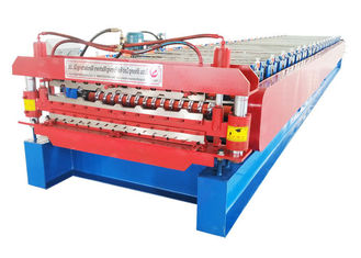 Full Automatic Double Layer Roll Forming Machine Power 5.5 Kw Size 7000*1500*1600mm