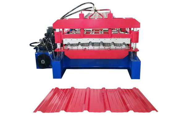 China Thickness 0.2-0.8mm Automated Roll Forming Machine , Cold Roll Forming Machine Power 4 KW supplier