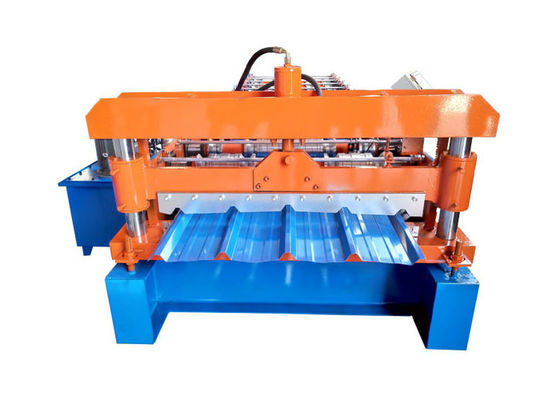 China 4 Kw Wall Panel Roll Forming Machine , Metal Roof Roll Forming Machine Weight 3 Tons supplier