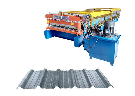 Steel Panel Roof Tile Roll Forming Machine