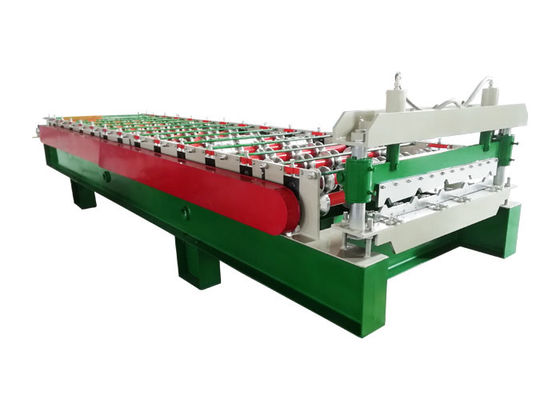 1000mm Width Sheet Metal Roll Forming Machines Speed 8-12 M/Min For Construction Material