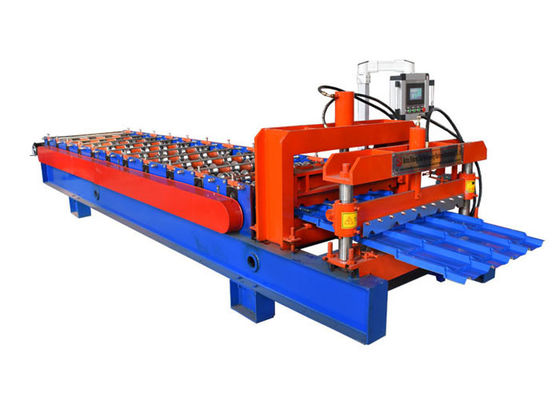 Profiled Aluminium Roll Forming Machine , Galvanized Color Steel Roll Forming Machine