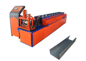 Shaft 70mm C Purlin Roll Forming Machine , Furring Channel Roll Forming Machine