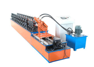 China metal stud and track U channel steel tracks light steel keel roll forming machine supplier