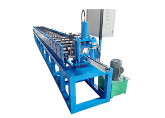 Upright Column Light Steel Keel Roll Forming Machine With Punch Machine Servo Feeder