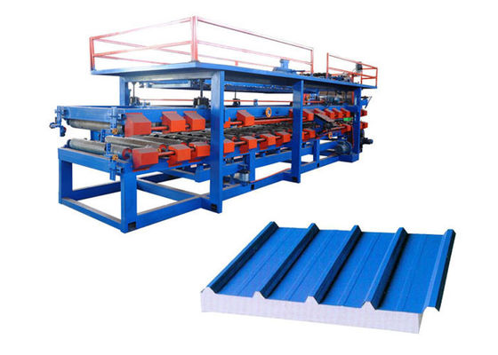 China Automatic Sandwich Panel Forming Machine Total Weight 16 Tons Shaft Number 24 supplier