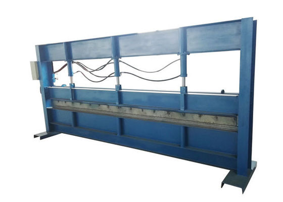 China Hydraulic Press Steel Sheet Bending Machine 4000mm Max Width Material Thickness 0.3-1mm supplier