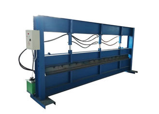 Size 4m Sheet Metal Bending Machine Hydraulic Pressure 10-12 MPa Power 22 KW