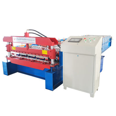 Wall And Roof Panel Roll Forming Machine For Coil Width 1219mm , High Speed