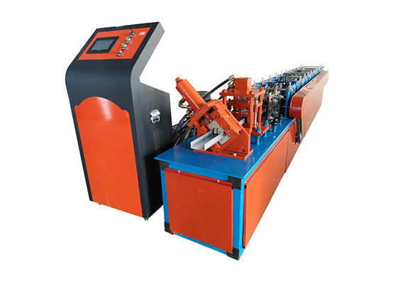 China Galvanized Steel C Shape Steel Keel Making Machine , Cold Roll Forming Machine supplier