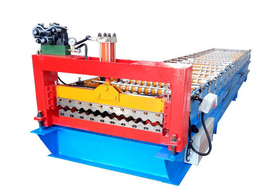 China High Efficiency Corrugated Sheet Roll Forming Machine Size 5800*1300*1500mm distributor