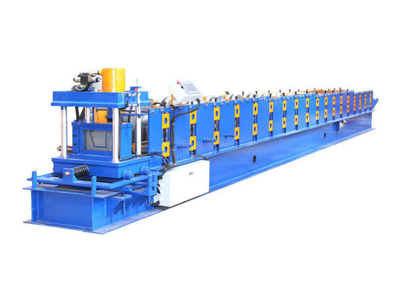 China Steel / Aluminum Gutter Roll Forming Machine With Precision Counter And Cutting factory