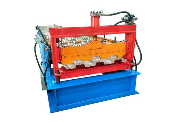 China Diameter 95mm Floor Deck Roll Forming Machine Russian / European Style Pump Power 15kw factory