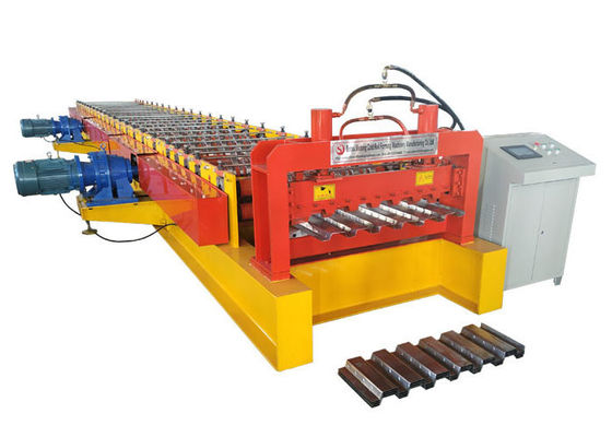 China 400 H Beam Floor Deck Roll Forming Machine Roller Material High Grade GCr15 factory