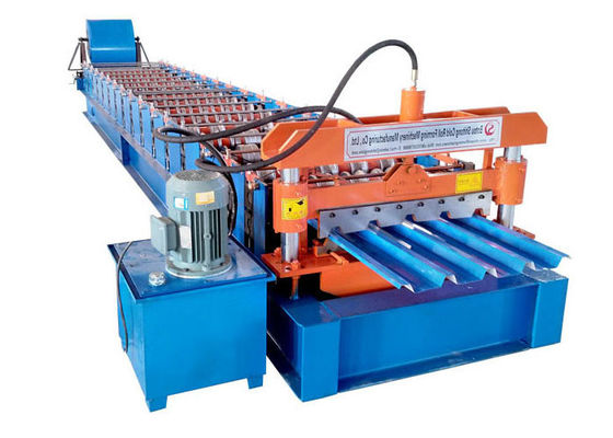 China Professional Sheet Metal Roll Forming Machines Dimensions L9.0 X W1.8 X H1.5 M factory