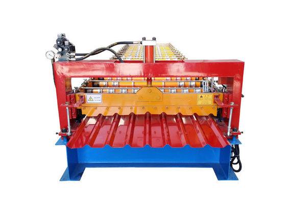 China Steel Profile Sheet Metal Roll Forming Machines Hydraulic Pressure 10-12 MPa factory