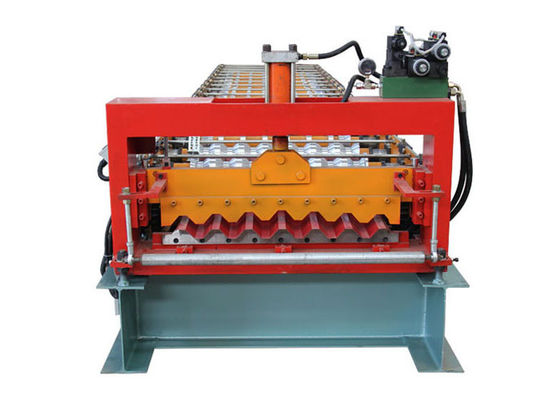 China Fully Automatic Corrugated Sheet Making Machine , 13 Rows Corrugated Metal Roofing Machine distributor