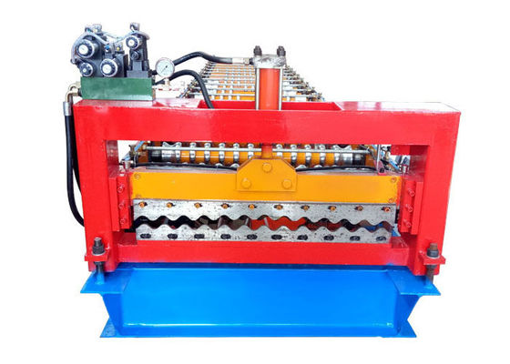 China Metal Roofing Corrugated Sheet Roll Forming Machine Main Frame 300 H Steel factory