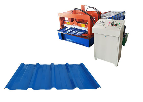 China Zinc Galvanized Color Coated Sheet Making Machine A/C Motor Drive Type 15 Forming Stations factory
