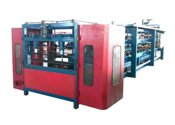 China Auto Cutting System EPS Sandwich Panel Machine , Rockwool Sandwich Panel Production Line factory