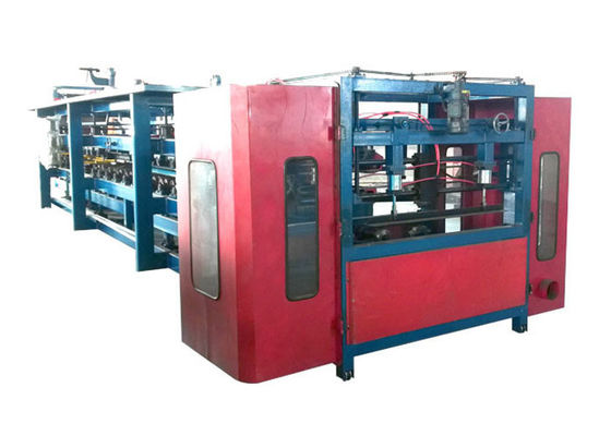 China Roof / Wall Sandwich Panel Forming Machine Customized Length Speed 8-10 M/Min factory