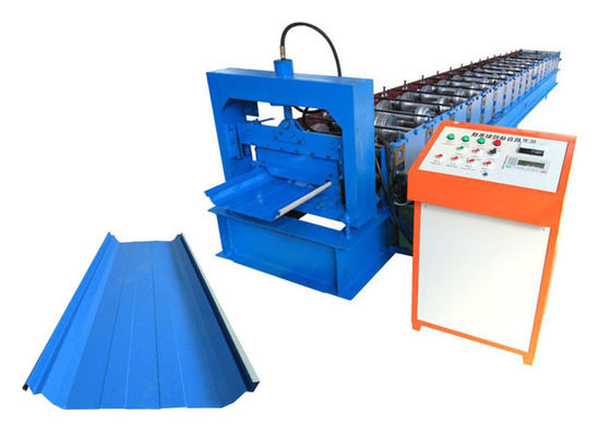 China Joint Hidden Standing Seam Roll Forming Machine Hydraulic Station Power 4 KW distributor