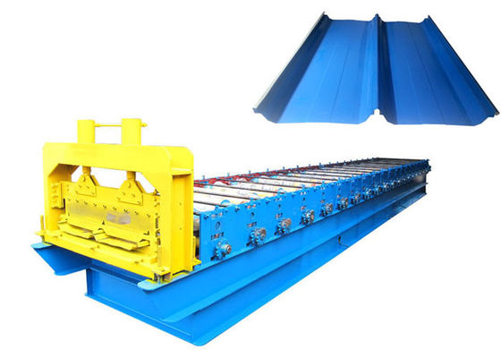 China Self Locked Standing Seam Panel Machine , Strip Steel Standing Seam Roof Machine distributor