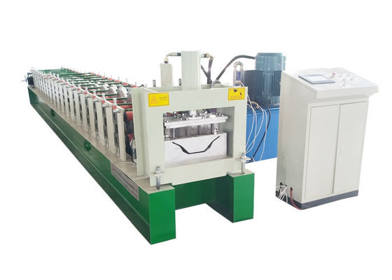 China Weight 3.5T Color Steel Roll Forming Machine Under Frame 300H Beam Voltage 380V factory