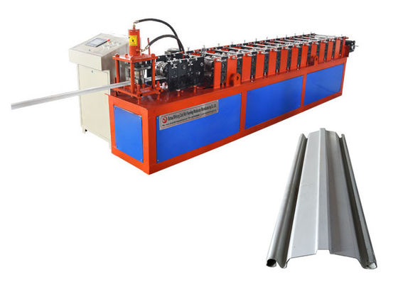 China Speed 12-15 M/Min Rolling Shutter Strip Making Machine With Punching Holes distributor