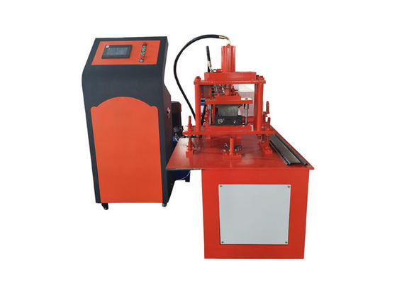 China C12 Cutter Roller Shutter Door Roll Forming Machine 115mm Width Steel Material distributor