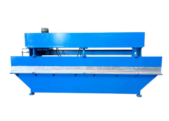 China Blue Color Hydraulic Sheet Bending Machine Plane Width ≤4m Raw Material GI / PPGI / PPGL distributor