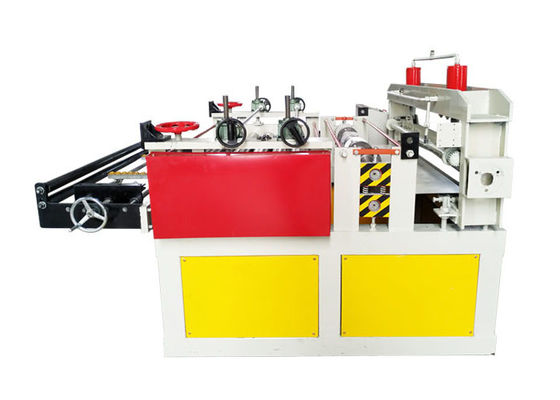 China Steel Sheet Slitting Metal Shearing Machine With Cross Cutting And Smooth Feeding Device distributor