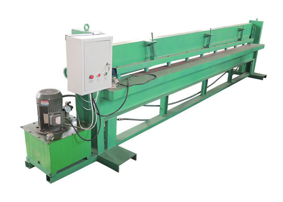 China Hydraulic Press Metal Shearing Machine / Plate Shearing Machine 3 Kw Power distributor