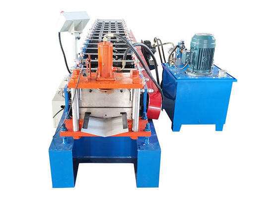 China Building Material Steel Roll Forming Machine  Valley Ridge Cap Roll Forming Machine factory