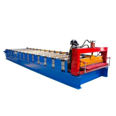 China Single Layer Corrugated Roll Forming Machine , Corrugated Steel Panel Roll Forming Machine distributor