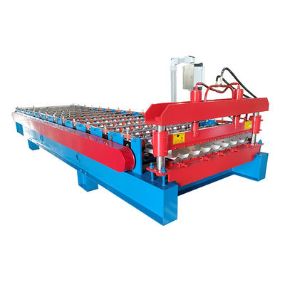 China Automatic Sheet Metal Roll Forming Machines , Cold Roof Roll Forming Machine distributor