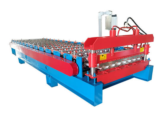 China PPGI Sheet With Ribs Metal Roof Making Machine Special For Custruction Company distributor