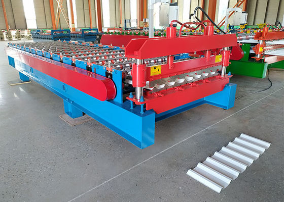 China Colorful Steel Trapezoid Machine Special For House Roofing Sheet Making distributor