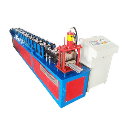 China Custom Garage Roller Shutter Door Roll Forming Machine , Panel Color Sheet Making Machine distributor