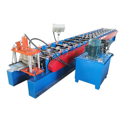 China Metal Roof Profile Roll Forming Machine Galvanized Ridge Tile Capping With Iron Sheet distributor