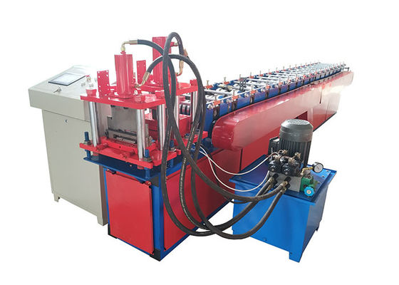 China Inner House Steel Ceiling Panel Roll Forming Machine With Hydrauli Punching Hole distributor