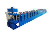 Weight 7 Tons Sheet Metal Roll Forming Machines U Shape Hydraulic Pressure 10-12MPa