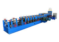 Different Size C Section Roll Forming Machine , Purlin Roll Former With Manual Modify Mold