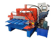 868-836 Aluminium Roll Forming Machine , Glazed Tile Roll Forming Machine Plate Width 1000mm
