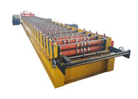 Easy Operate Floor Deck Roll Forming Machine Effective Width 1000mm For Building Construction