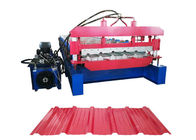 Thickness 0.2-0.8mm Automated Roll Forming Machine , Cold Roll Forming Machine Power 4 KW