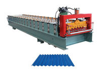 Weight 3.5 Tons Corrugated Sheet Roll Forming Machine Raw Material Thickness 0.3-0.8 MM