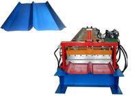 Cr12 Cutter Standing Seam Roll Forming Machine Self Lock Plate Feeding Thickness 0.3-0.9mm