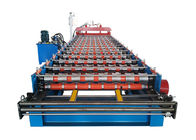 PPGI Sheet With Ribs Metal Roof Making Machine Special For Custruction Company