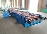 Colorful Steel Trapezoid Machine Special For House Roofing Sheet Making